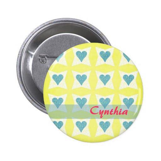 Botón del el día de San Valentín Pins