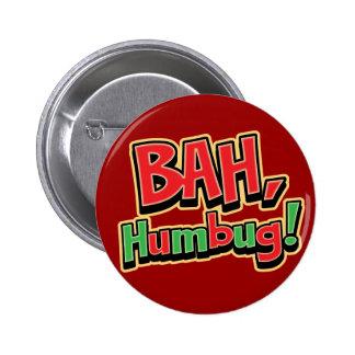 Botón del embaucamiento de Bah Pin Redondo De 2 Pulgadas