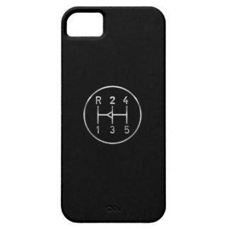 Botón del engranaje del coche de deportes, modelo funda para iPhone SE/5/5s