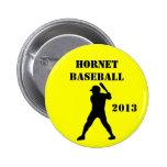 Botón del equipo de béisbol pin
