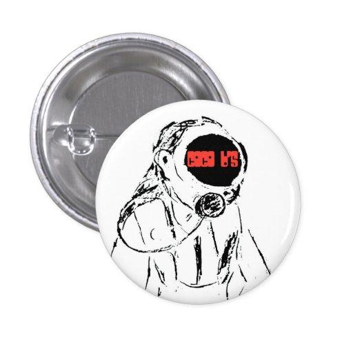 Botón del equipo de submarinismo del equipo de Coc Pin