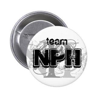 Botón del equipo NPH Pin Redondo De 2 Pulgadas