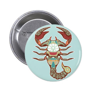 Botón del escorpión pins