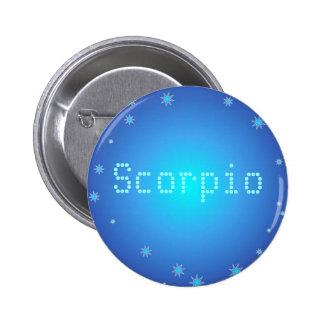 Botón del escorpión pin