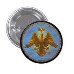 Botón del escudo de Viking - Eagle Pin