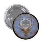Botón del escudo de Viking - Eikþyrnir Pins