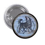 Botón del escudo de Viking - Fenrir Pins