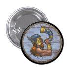 Botón del escudo de Viking - Heimdallr Pins