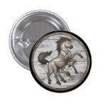 Botón del escudo de Viking - Sleipnir Pins