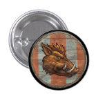 Botón del escudo de Viking - verraco Pins