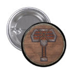 Botón del escudo de Viking - Warhammer Pins