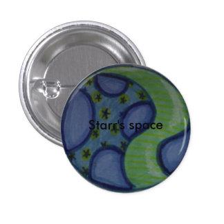 Botón del espacio de Starr Pins