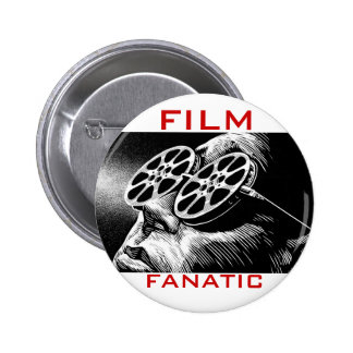 Botón del fanático de la película pin