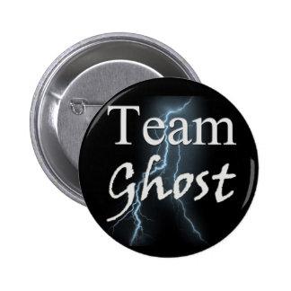 Botón del fantasma del equipo pin redondo de 2 pulgadas