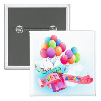 Botón del feliz cumpleaños pin