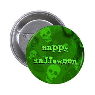 """Botón del """"feliz Halloween"""" de los espectros del c"""