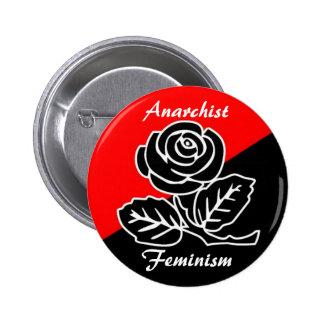 botón del feminismo del anarquista pins