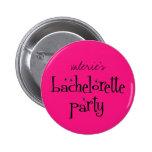 Botón del fiesta de Bachelorette