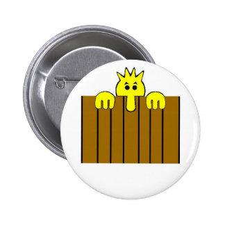 Botón del fiesta de la mirada furtiva Tom Pin