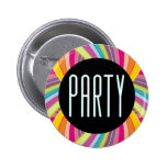 Botón del fiesta pin