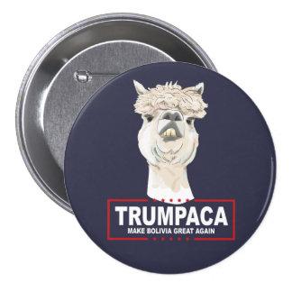 Botón del funcionario de Trumpaca Pin Redondo De 3 Pulgadas