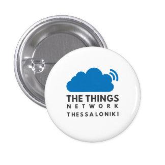 Botón del funcionario de TTNSKG Pin Redondo De 1 Pulgada