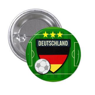 Botón del fútbol de Deutschland Alemania