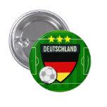 Botón del fútbol de Deutschland Alemania Pins