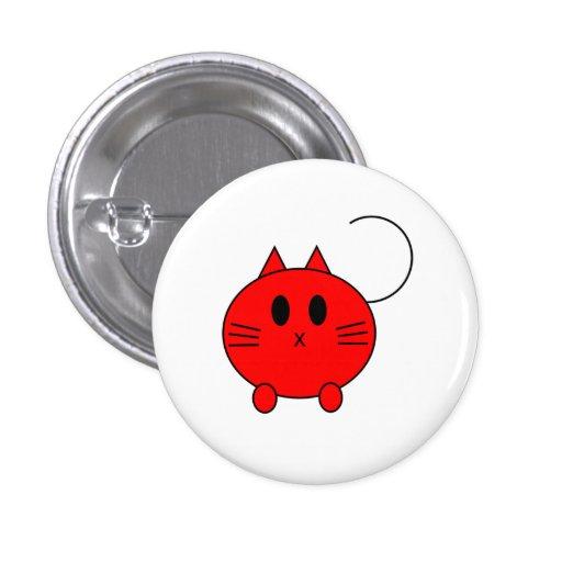Botón del gato de Kawaii Neko Linux
