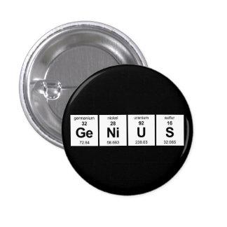 Botón del genio pin