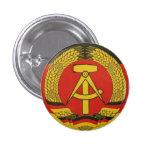 Botón del germanooriental del vintage pin