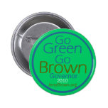 Botón del gobernador de BROWN Pin