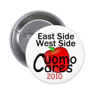 Botón del gobernador de CUOMO Pin