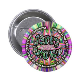 Botón del gobernador de Jerry Brown