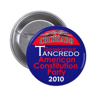 Botón del gobernador de TANCREDO Pin