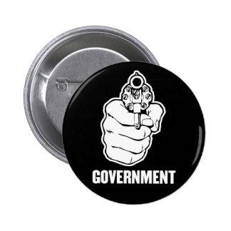 Botón del gobierno pin