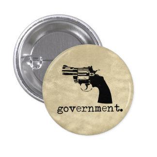 Botón del gobierno pin redondo de 1 pulgada