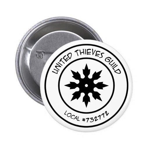 Botón del gremio de los ladrones pin
