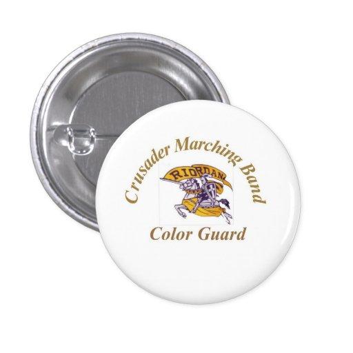 Botón del guardia de honor del cruzado