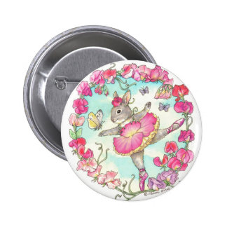 Botón del guisante de olor pin redondo de 2 pulgadas
