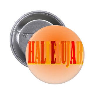 Botón del Hallelujah Pins
