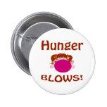 Botón del hambre de los soplos pin