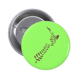 Botón del helecho NZ 3 Pin