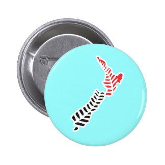 Botón del helecho NZ 5 Pin