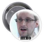 Botón del héroe de Snowden Pins