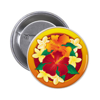 Botón del hibisco