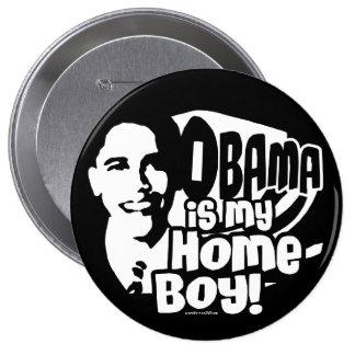 Botón del Homeboy 2008 de Obama Pins