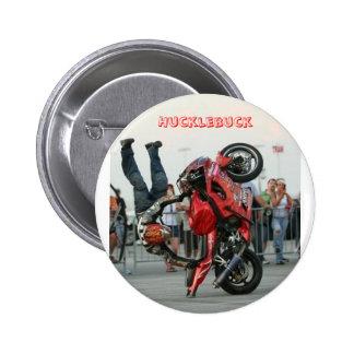 botón del hucklebuck del estilo libre de los steph pins