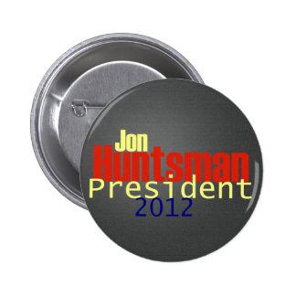 Botón del Huntsman 2012 Pin Redondo De 2 Pulgadas
