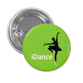 botón del iDance (bailo) Pin Redondo De 1 Pulgada